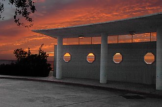 La Porte, Texas - Sunrise at the Sylvan Beach Pavilion