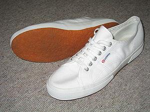 Superga (brand) - The original white Superga model