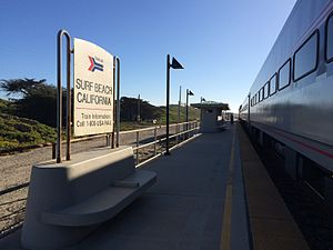 Surf, California - Surf Amtrak Station