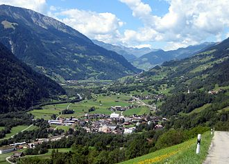 Surselva District - The Surselva near Trun