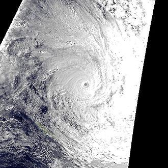 1997–98 South Pacific cyclone season - Image: Susan Jan 5 1998 1910Z