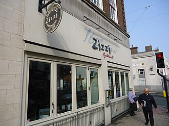 Zizzi - Image: Sutton Surrey London Zizzi 1
