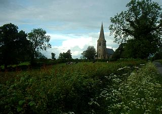 Sutton on the Hill village and civil parish in South Derbyshire district, Derbyshire, England