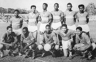 S.V. Robinhood - The 1976 squad that won the Hoofdklasse and Caribbean titles and finished runners up in the Champions' Cup.