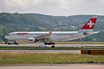 Swiss International Air Lines Airbus A330-223 HB-IQA (21991154036).jpg