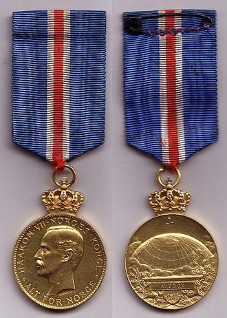Oscar Wisting - South Pole Medal