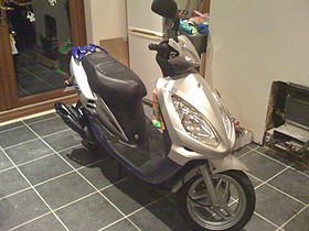 Px Sym Jet Euro X Front on Air Brake Can