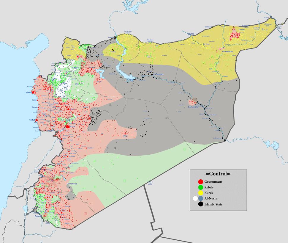 Syrian civil war 01 08 2016