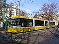 Szeged 1-es villamos Aradi vértanúk tere próbajárat 2012-01-11.JPG