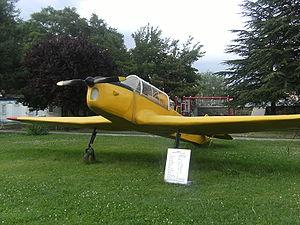 Museum of Turkish Aeronautical Association - Aircraft THK-15.