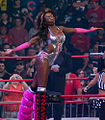 Rhaka Khan during her ring entrance at Bound for Glory IV