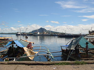 Hafen von Tacloban