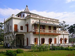 Shilaidaha Kuthibari, the famous residence of Rabindranath Tagore, is located at Kumarkhali