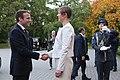 Tallinn Digital Summit. Meeting of Estonian President Kersti Kaljulaid and French President Emmanuel Macron (37327082846).jpg