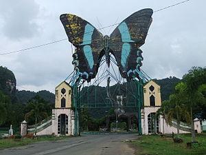 Bantimurung – Bulusaraung National Park - Image: Taman Wisata Bantimurung