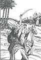 Tarikhuna bi-uslub qasasi-Hamza fights Shaybah ibn Rabi'ah.jpg