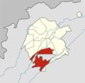 Tashkent city (Uzbekistan) Sergeli district (2018).png