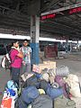 Team luggages in Haridwar Station WTK20150912-IMG 0441.jpg