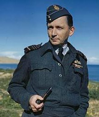 Forage cap - Air Chief Marshal Tedder wearing war service dress