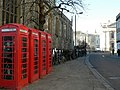 Telephone Boxes by Great St Marys Church - geograph.org.uk - 631808.jpg