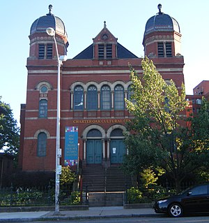 Temple Beth Israel (Hartford, Connecticut) - Image: Temple Beth Israel Hartford CT