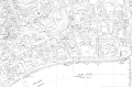 Temple area, City of London, Ordnance Survey map 1950s.png
