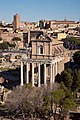 Temple of Antoninus et Faustina from palatine hill.jpg