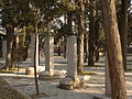 Temple of Mencius - three Qing bixi - P1050940.JPG