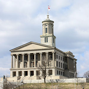 William Strickland (architect) - Image: Tennessee State Capitol 2009