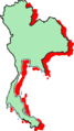 Thailand map green.png