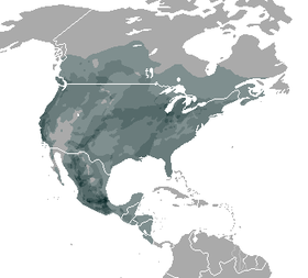 Thamnophis distribution
