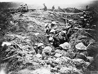 Battle of the Menin Road Ridge - Image: The Battle of Passchendaele, July november 1917 Q5969