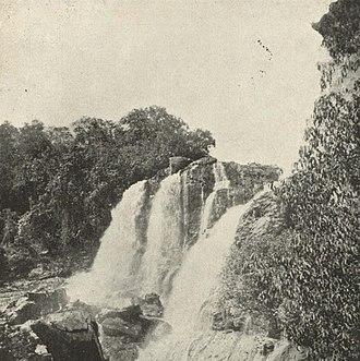 Shivanasamudra Falls - Image: The Beer Chukki Falls, Mysore