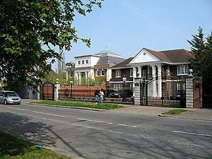 The Bishops Avenue - Houses on The Bishops Avenue.