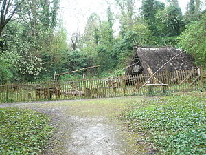 Bodging - The Bodger's Hut at Amberley Museum & Heritage Centre