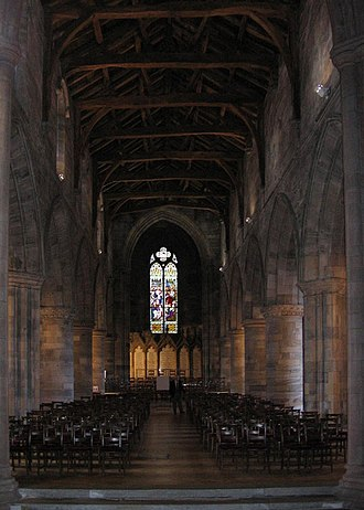 Church of the Holy Rude - Interior