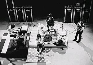 1968 in music - The Doors in 1968.
