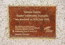 The Dubhlinn Gardens Veronica Guerin Memorial 04.JPG