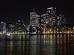 The Isle of Dogs at Night (geograph 2737447).jpg
