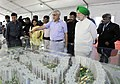 The Minister of State for Housing and Urban Affairs (IC), Shri Hardeep Singh Puri at the handing over ceremony of possession to allottees of the new government flats at East Kidwai Nagar, in New Delhi (1).JPG