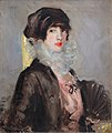The Model – Peggy Macrae, by Francis Campbell Boileau Cadell.jpg
