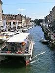 The Naviglio Grande in Milan - 02 - during fiera NavigaMi boat Show - salone nautico NavigaMi.JPG