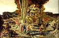 The Pierides by Gustave Moreau (1886-1889).jpg