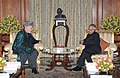 The President of Islamic Republic of Afghanistan, Mr. Hamid Karzai meeting the President, Shri Pranab Mukherjee, at Rashtrapati Bhavan, in New Delhi on November 12, 2012.jpg