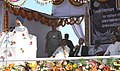 The Prime Minister, Dr. Manmohan Singh addressing at the foundation stone laying ceremony of the new Integrated Terminal, at Tirupati Airport, in Andhra Pradesh on September 01, 2010.jpg