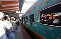 The Prime Minister, Shri Narendra Modi flagged off the Palace Queen Humsafar Express between Mysuru and Udaipur, at Mysuru Railway Station, in Karnataka on February 19, 2018.jpg