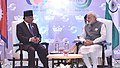 The Prime Minister, Shri Narendra Modi holding bilateral meeting with the Prime Minister of Nepal, Mr. Pushpa Kamal Dahal, on the sidelines of BRICS-BIMSTEC outreach summit, in Goa on October 16, 2016 (1).jpg