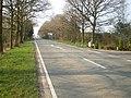 The Stallington Heath milepost in its setting - geograph.org.uk - 1805795.jpg
