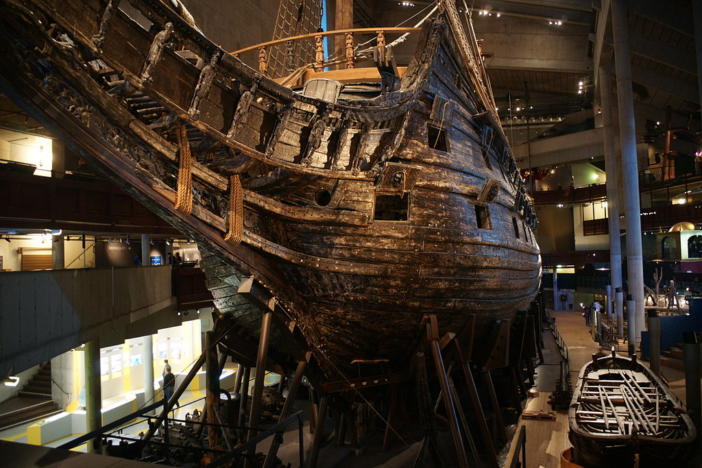 Regalskeppet Vasa.