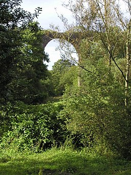 The Viaduct on the old dismantled railway - geograph.org.uk - 1224901